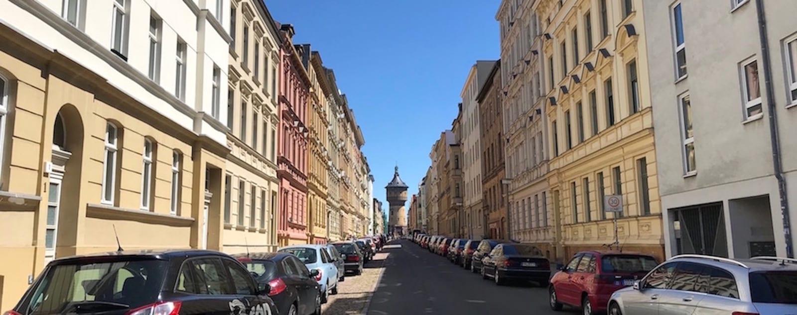 Lessingstraße in Halle