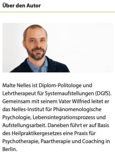 Autor Malte Nelles